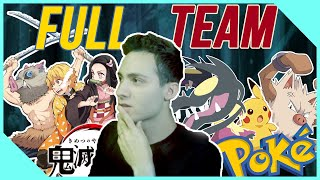 Demon Slayer Pokemon Team Kimetsu Professional VGC Doubles