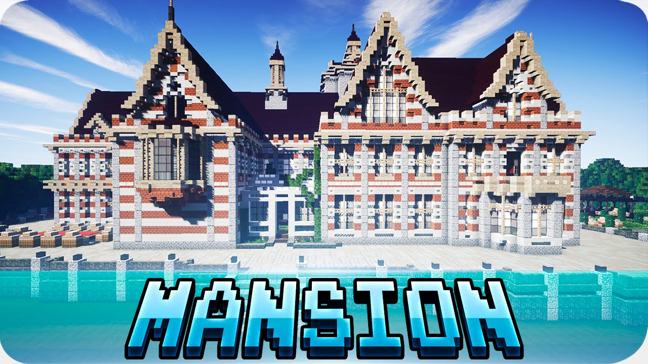 Minecraft giant victorian mansion house w download House map online free