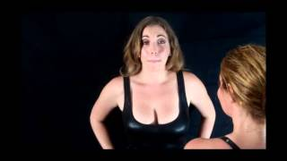 Two beautiful brunettes try to hypnotize each other (Samantha's turn)
