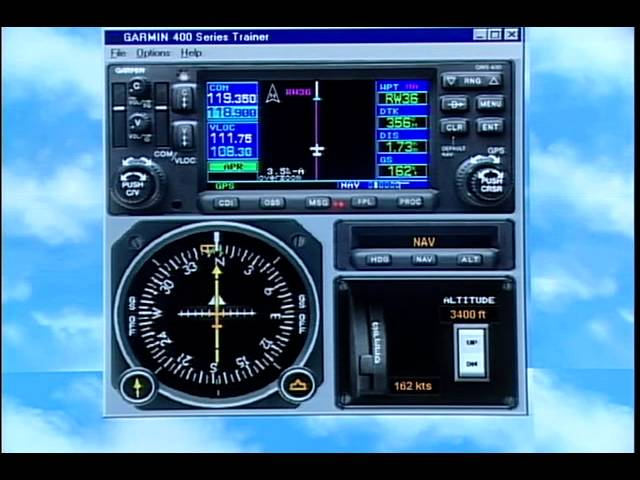 Garmin GNS 430/530 NON WAAS Training