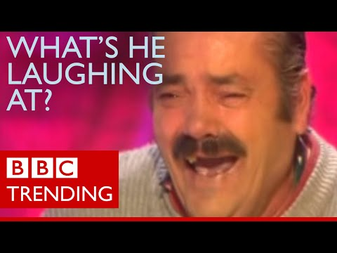 How 'Laughing Man' spread around the world - BBC Trending
