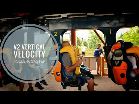 Vertical Velocity V2 Rollercoaster off-ride Sixflags Great America Illinois