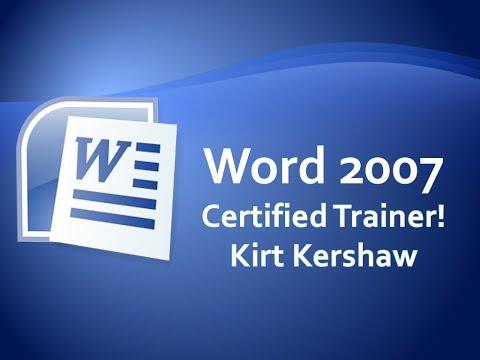 Word 2007: Organization Chart