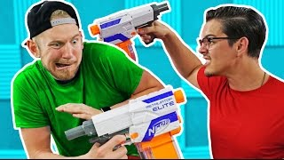 NERF Red Light / Green Light Challenge! [Ep 2]