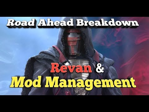 Revan and Mod Management!!!  podcast star wars galaxy of heroes swgoh