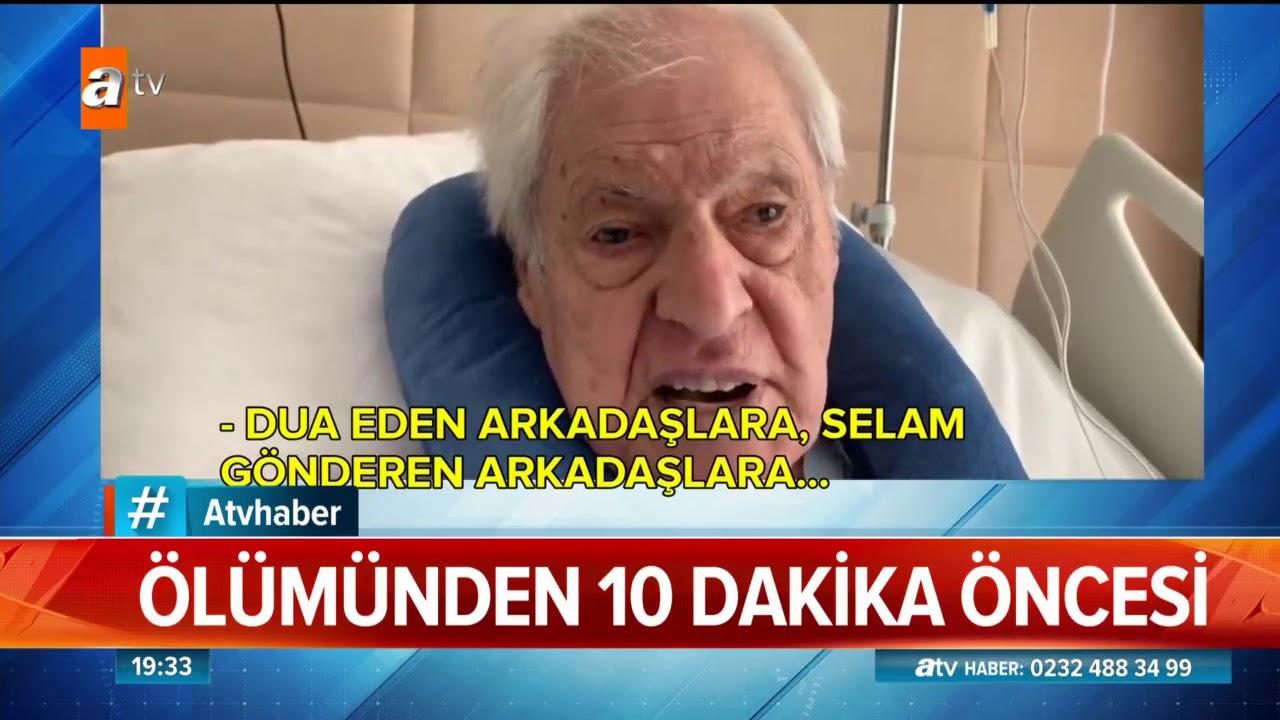85 yaşında hayata gözlerini yumdu... - Atv Haber 19 Ekim 2019