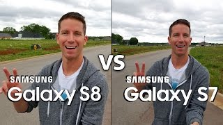 SAMSUNG GALAXY S8 vs S7 Camera Test Comparison! (4K)