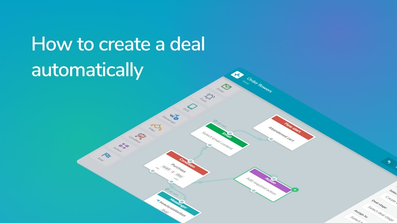 How to create a deal automatically