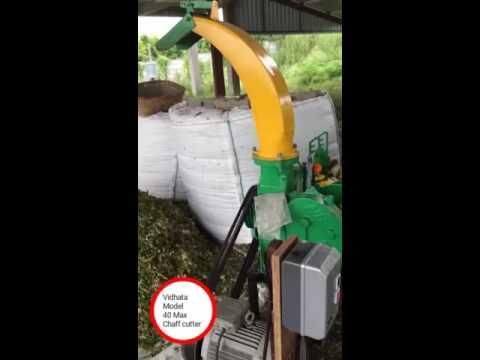 Chaff cutter- Motor Operated