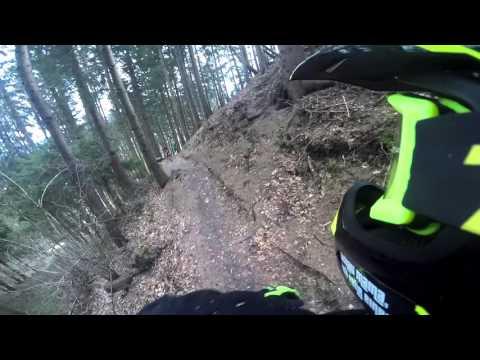 Mountainbike Crash + Broken Frame