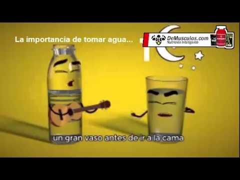 La importancia de tomar agua youtube for Toma de agua