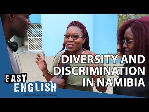 Discrimination and Diversity in Namibia | Easy English 33