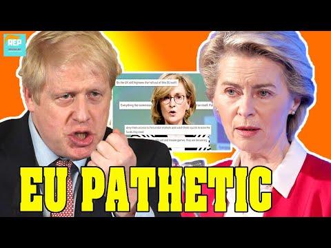 SHOCK: Von der Leyen THREATENS UK with financial services blockade, She never worked in this field!
