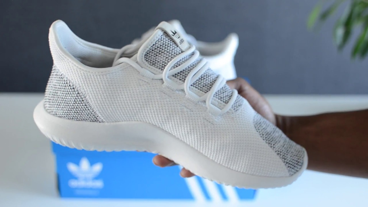 3d06e0cdf4b6 Adidas Tubular Shadow (Knit) White Black