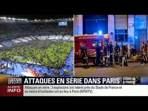 ÉDITION SPÉCIALE : ATTENTATS Paris 13 novembre 2015 - BFMTV - 22h/4h
