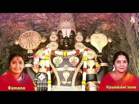 Sri Venkateswara Suprabhatam With Tamil Lyrics || Kausalya Suprajarama Song || jayasindoor ||