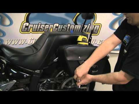 Motorcycle EasyBrackets Saddlebags - Step by Step Installation - Video Guide: Tip of the Week