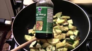How To Make Chinese Zucchini Stir Fry