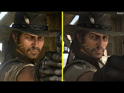 Red Dead Redemption Trailers vs Retail Graphics Comparison