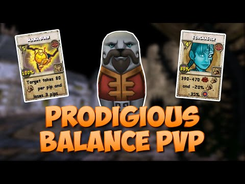 Wizard101: Prodigious (Level 110) Balance PvP #19