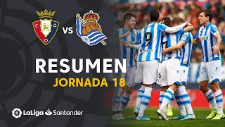 Highlights CA Osasuna vs Real Sociedad (3-4)