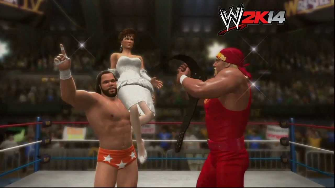 quotwwe 2k14quot howto randy savage vs ted dibiase at