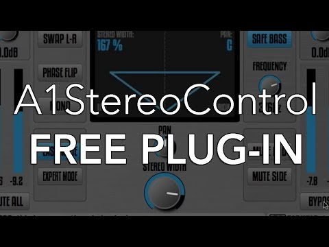 A1StereoControl | FREE PLUG-IN WEEKLY