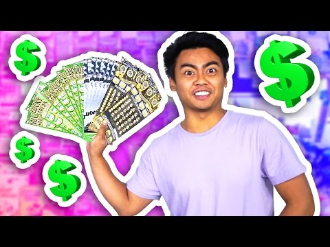 Thumbnail: WILL $400 WORTH OF LOTTERY TICKETS WIN ANYTHING EXPERIMENT?!