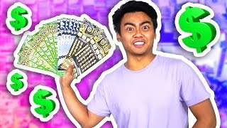 WILL $400 WORTH OF LOTTERY TICKETS WIN ANYTHING EXPERIMENT?! thumbnail