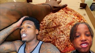 Giant Pizza Challenge Fail!