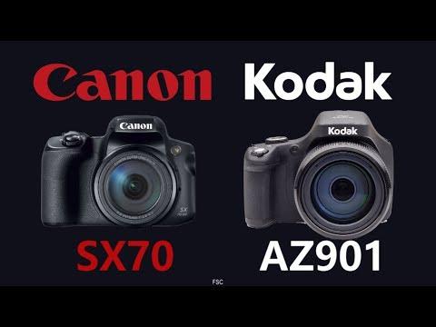 Canon PowerShot SX70 HS vs KODAK PIXPRO AZ901