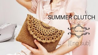 [Eng Sub]코바늘 여름클러치 :Crochet su…
