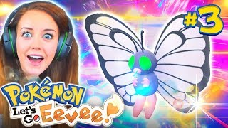 I CAN'T BELIEVE I GOT ONE!? 🌟 - (Pokemon Let's Go Eevee!🐶 #3)