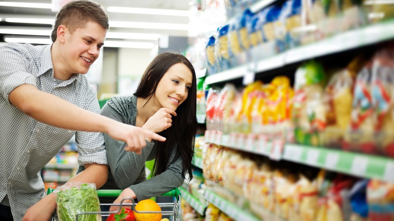 Grocery Shopping For Healthy Food