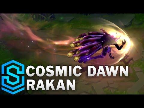 Cosmic Dawn Rakan Skin Spotlight - League of Legends