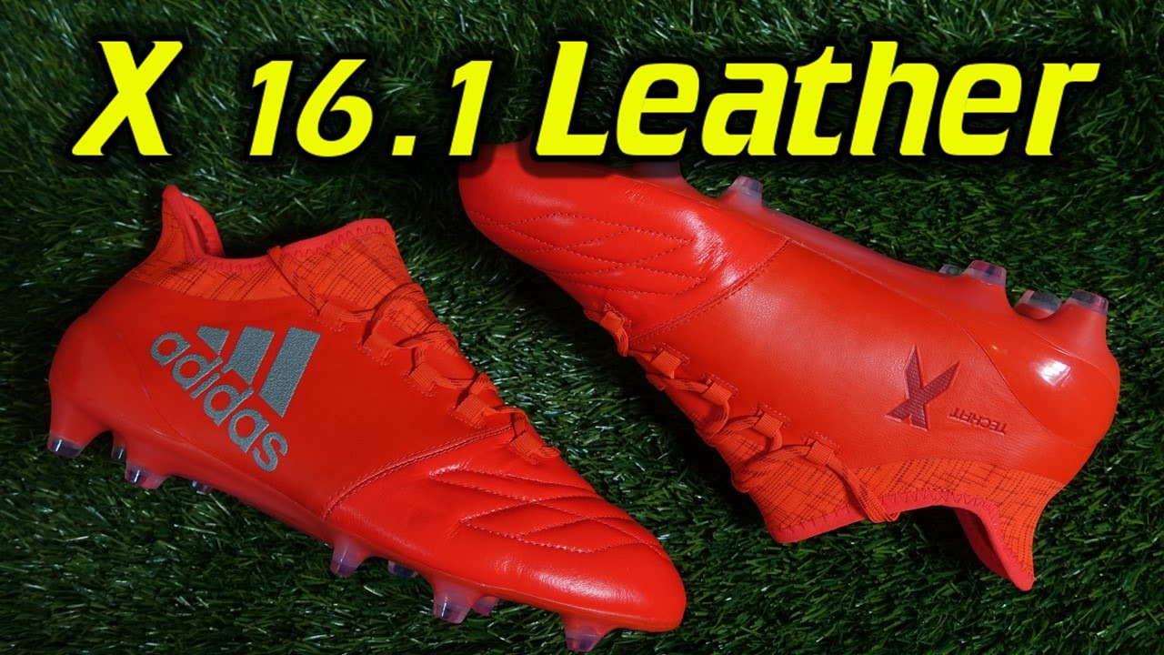 08cf6a793 Adidas X16.1 Leather (Speed of Light Pack) - Review + On Feet - YouTube