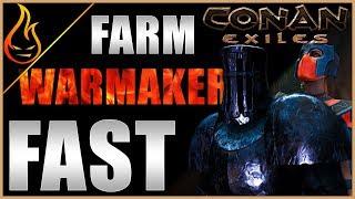 Simple Guide To Farming The Warmaker Conan Exiles 2019
