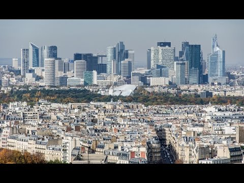 Top 15 skylines in France (2015)