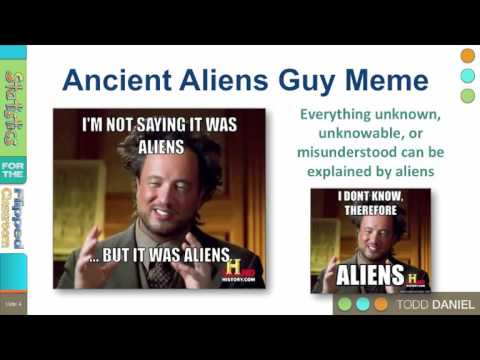 8-1 Ancient Aliens – Falsifiability