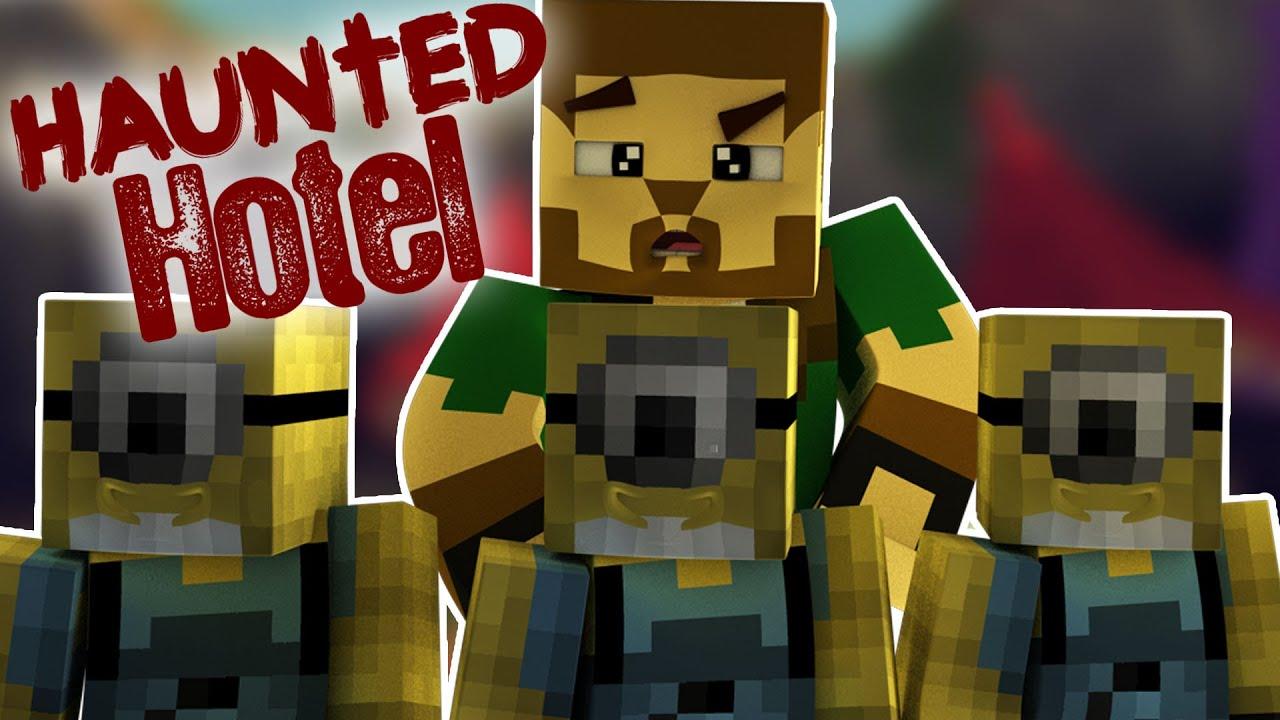Haunted Hotel Minions Minecraft Roleplay Adventure 5