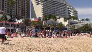 Spring Break in Fort Lauderdale, Florida