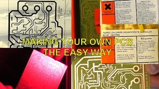 Scullcom Hobby Electronics #23 - Making your own PCB the easy way