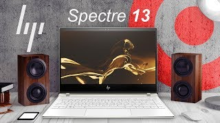 HP Spectre 13 (2019) красивее ноутбука ещё не было