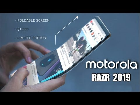 Motorola Razr 2019 with Foldable Display - THIS IS IT!!!
