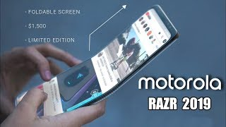 Motorola Razr 2019 with Foldable Display - THIS IS IT!!!