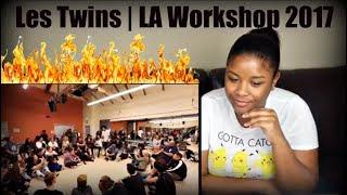Les Twins | LA Workshop 2017 Reaction!