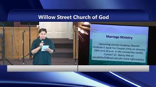 Willow Street Church of God Live Stream