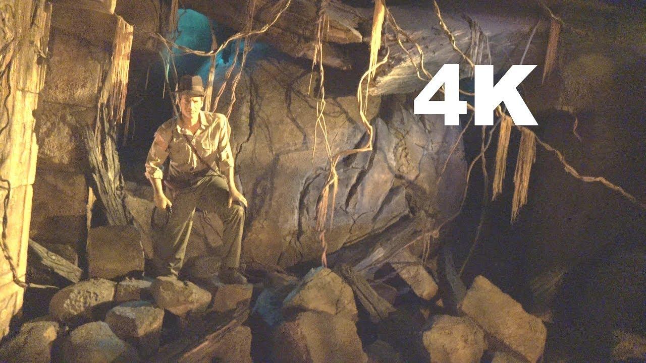 4k pov disney sea indiana jones adventure temple of the crystal skull tokyo japan youtube. Black Bedroom Furniture Sets. Home Design Ideas