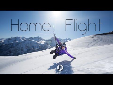 Home Flight - Jean-Baptiste Chandelier /// with Luc Alphand & Pierre Vaultier