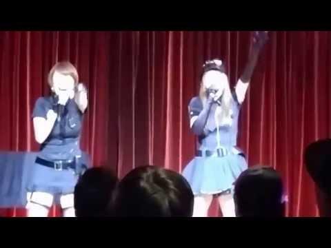 ペッパー警部 白石まるみ・守永真彩仲良し親娘LIVE 2015/10/16